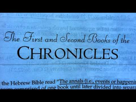The Bible: 1&2 Chronicles