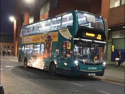 Arriva Leicester Fleet News