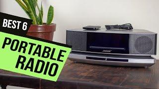 TOP 6: BEST Portable Radio [2021] | FM AM Radios