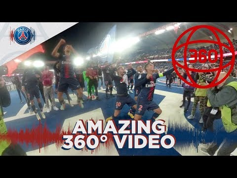 AMAZING 360 VIDEO CELEBRATION WITH PLAYERS AND ULTRAS