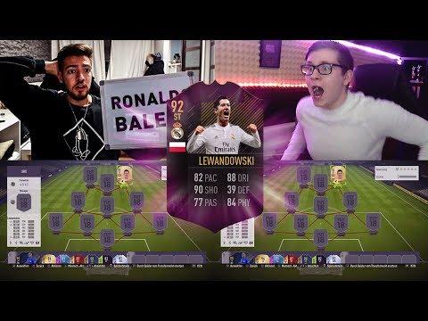 90+ DISCARD 😱 Real Madrid LEWANDOWSKI Squad Builder Battle vs Realfifa ⚽🔥 Fifa 18 Ultimate Team