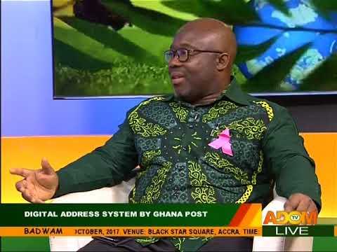 Digital Address System By Ghana Post - Badwam on Adom TV (20-10-17)