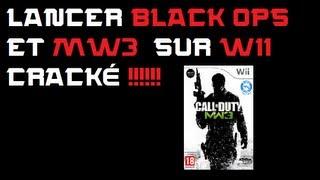 Lancer Black Ops et Mw3 sur Wii (jeu bloqué sur chargement ou pas de online... !!