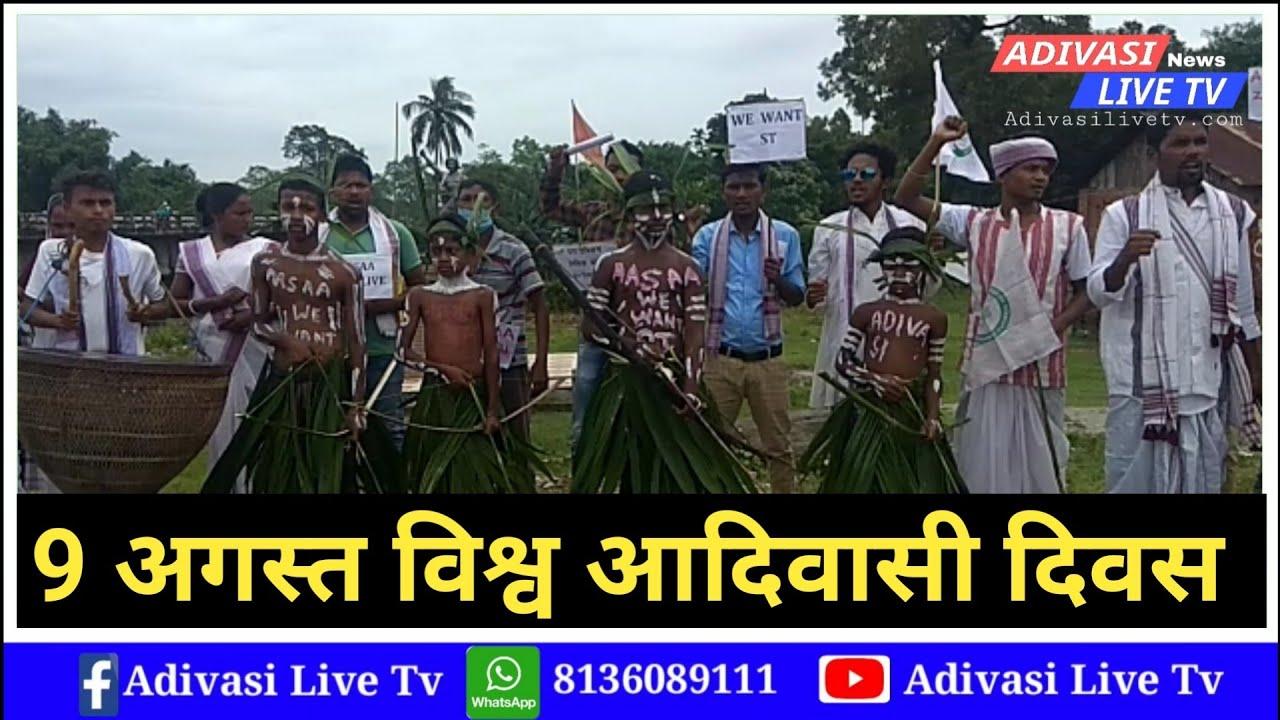 विश्व आदिवासी दिवस साल 9 अगस्त // Bansbari Anchalik Baksa District News //