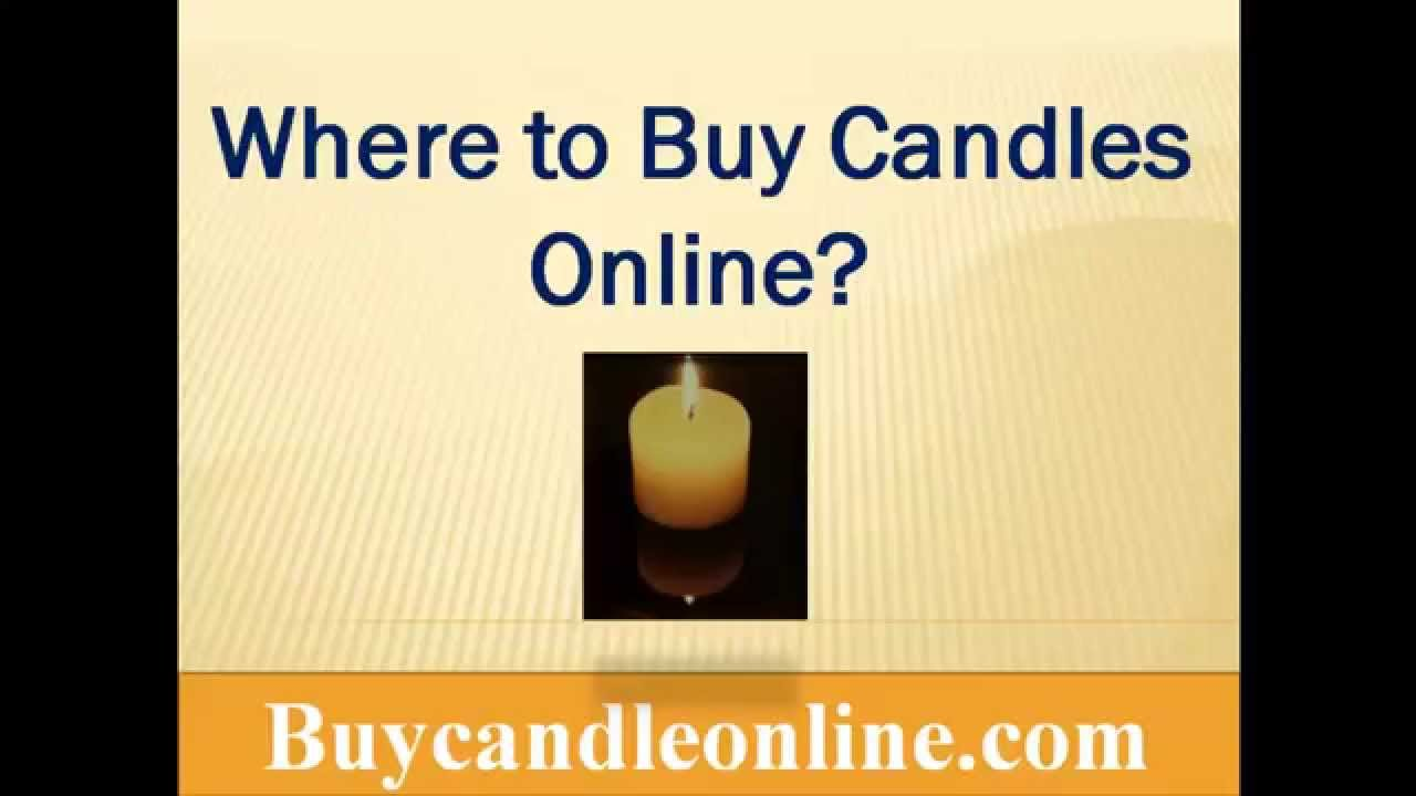 Buy Candles Online Where To Buy Candles Online With Cheap Rates