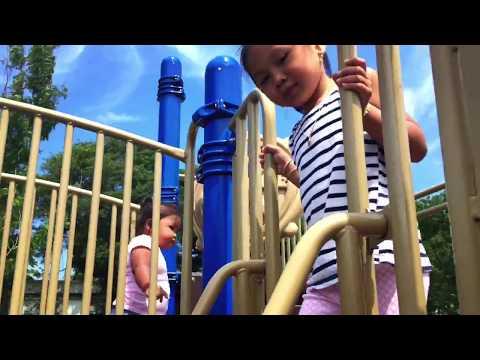 Kids Playing at Harry Kizirian Elementary School playground