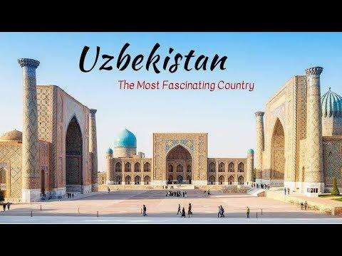 Uzbekistan Tourist Attractions: Tashkent, Samarkand & Bukhara [HD 2018]