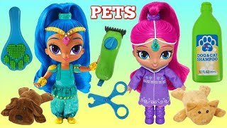 Shimmer & Shine Feeding & Grooming Pet Care Play Set
