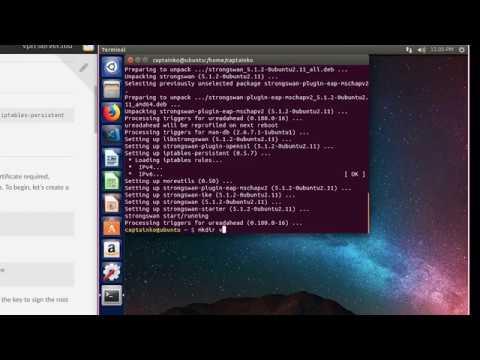 VPN Server On Linux - StrongSwan