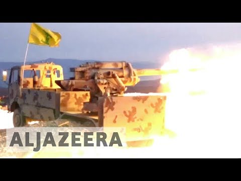 Hezbollah launches major ground offensive on Syria-Lebanon border