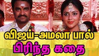 Vijay - Amala Paul divorce issue - Reason behind the Divorce   Cine FLick
