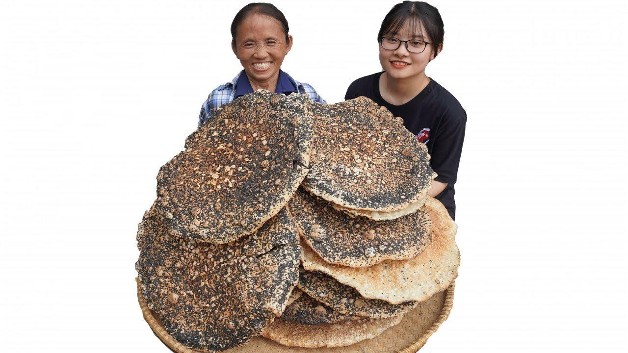 Bà Tân Vlog – Làm Nia Bánh Đa Kế Siêu To Khổng Lồ Đặc Sản Bắc Giang