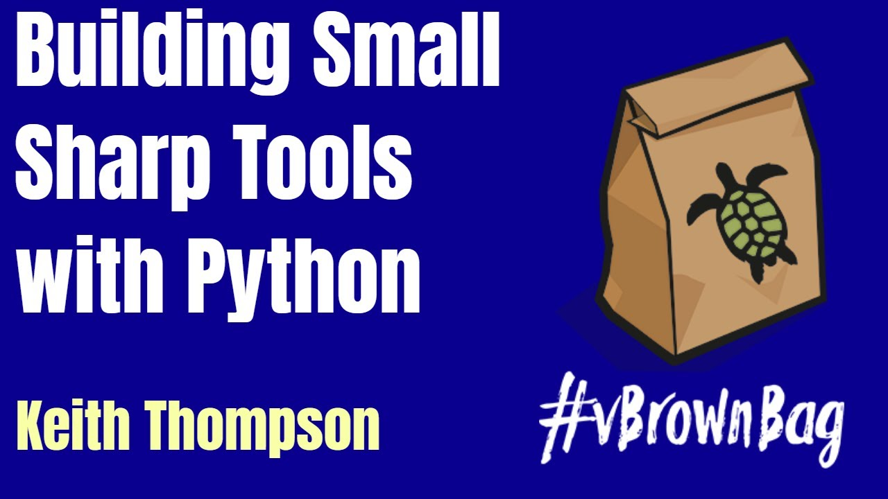 Episode Followup – Building Small, Sharp Tools with Python by Keith