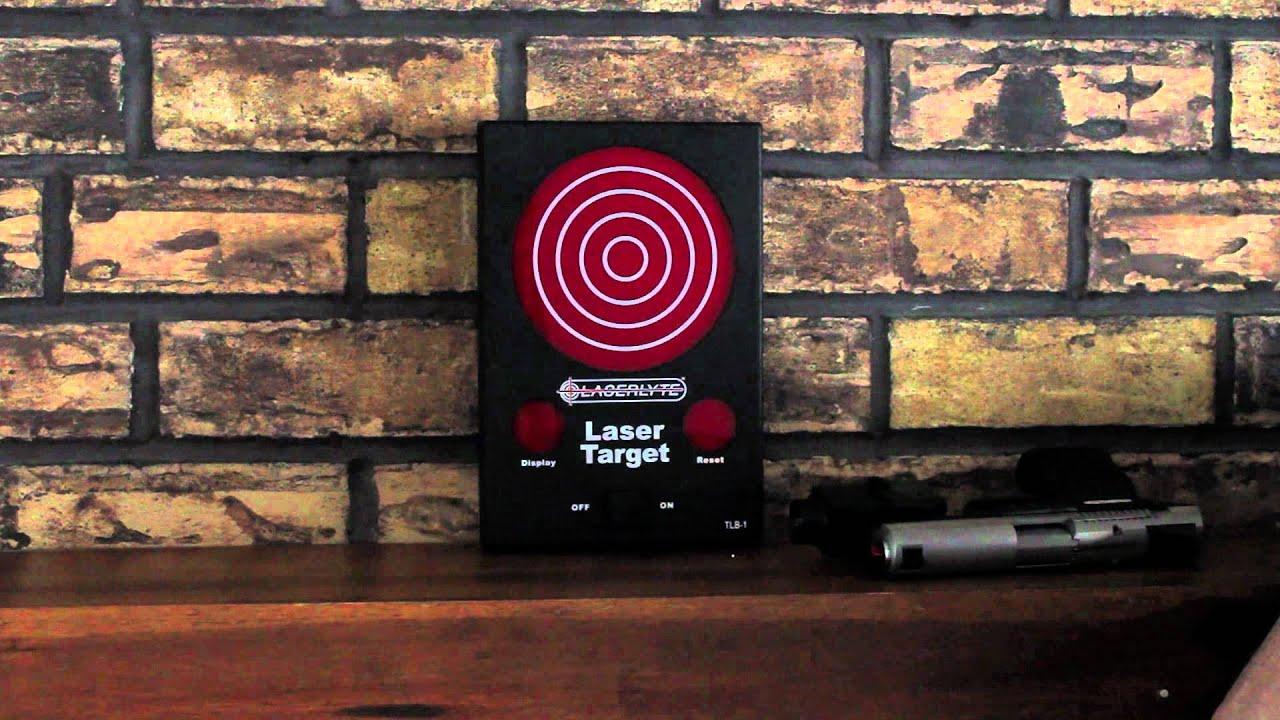 Review: LaserLyte Laser Target