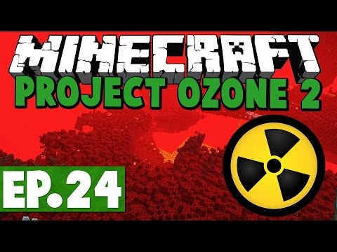 Minecraft Project Ozone 2 Kappa Mode! #24 [Modded HQM Skyblock]
