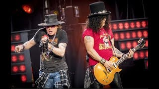 """Guns N' Roses: Axl Rose """"Apologizes"""" To Slash On Stage (Not in This Lifetime Reunion Tour) 2019"""
