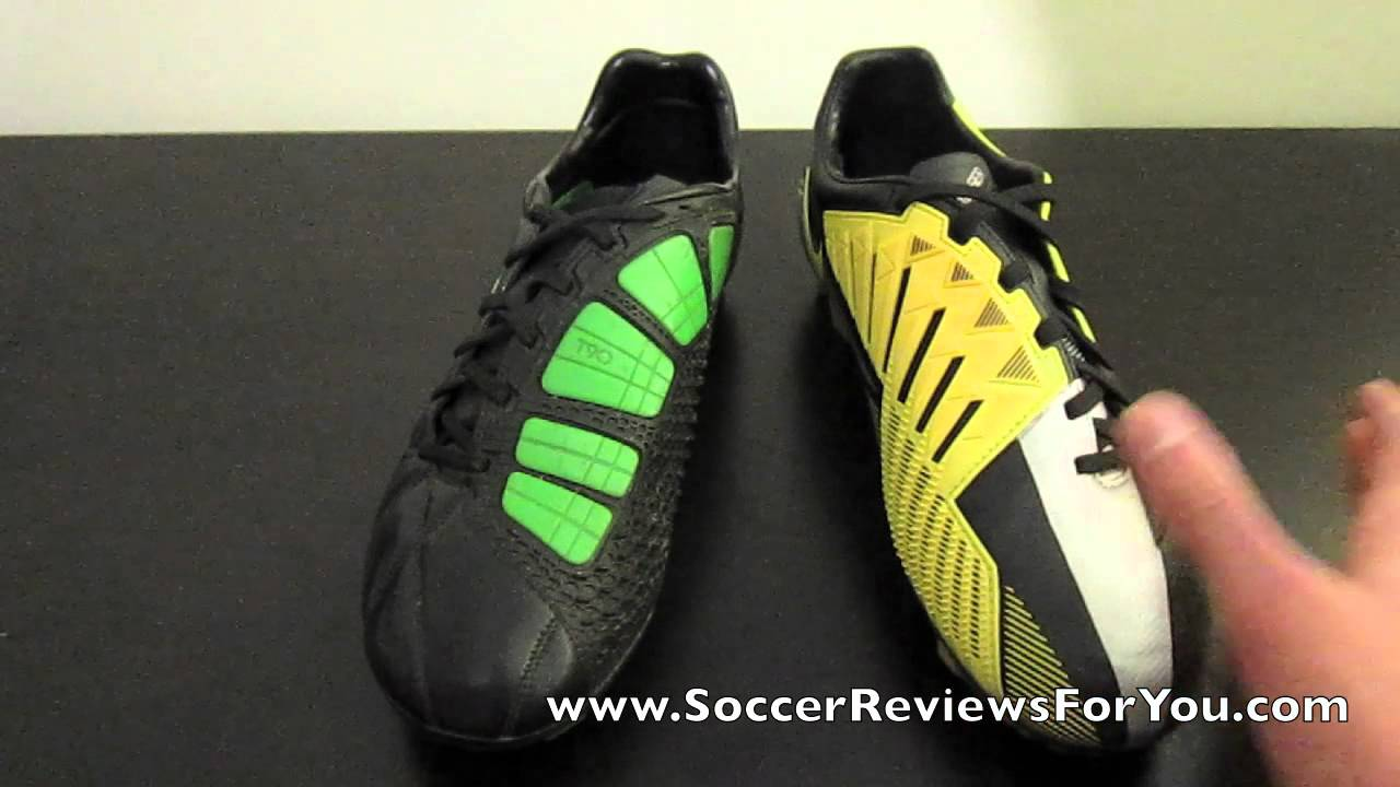 ... Nike T90 Laser III VS T90 Laser IV - Comparison - YouTube