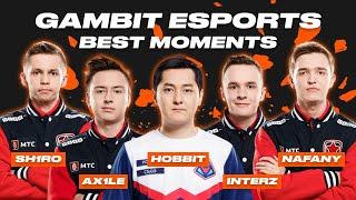 CS:GO Best Moments | Gambit Esports | Вулкан Киберспорт