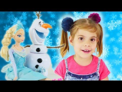 Игры для девочек: Лучшие игры Эльза, Олаф и Холодное сердце. Пластилин и Детское творчество