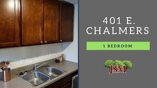 Illini Manor - 401 E. Chalmers - 1-Bedroom - #123 Overview