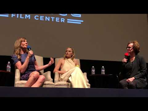 "Margot Robbie and Allison Janney ""I, Tonya"" q&a at Rafael theater 2017"