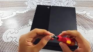 Solución definitiva del problema auto-expulsado y beep constante en PS4 FAT; Inhabilitar Botón.