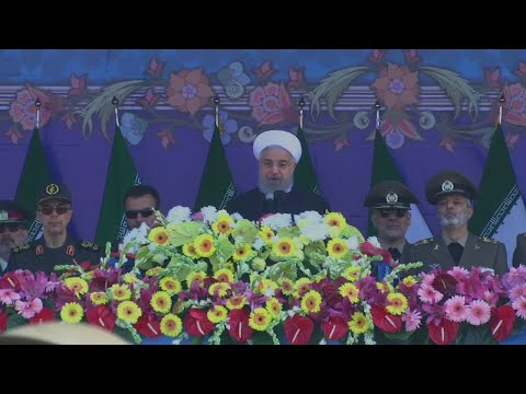 "Hassan Rouhani: ""We tell the world that we will build any weapon we may require"""
