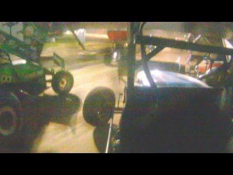 Stewart Friesen #33 In-Car ESS @ Albany-Saratoga Speedway 8-2-2013