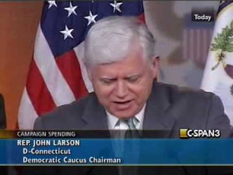 Congressman Larson Responding to Supreme Court Ruling in Citizens United vs. FEC