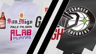 San Miguel Alab Pilipinas v Formosa Dreamers | Highlights | 2018-2019 ASEAN Basketball League