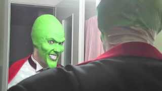 The Mask tornado test make up