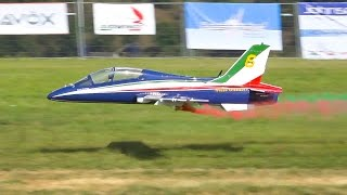 AWESOME LARGE AERMACCHI MB-339 RC JET SCALE MODEL / Jet Power Fair 2016