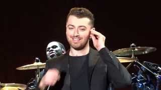 "Sam Smith ""Stay With Me"" 24.11.15 Yoyogi National Stadium First Gymnasium"