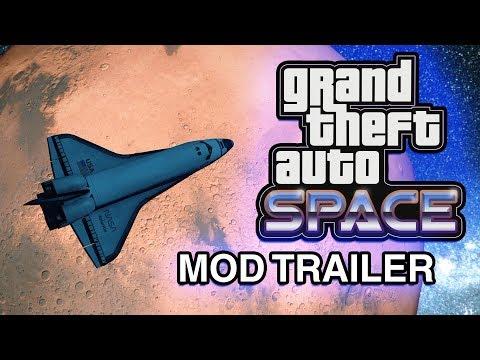 Grand Theft Space - GTA 5 Mod Trailer