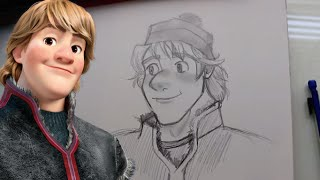 How to Draw KRISTOFF from Disney