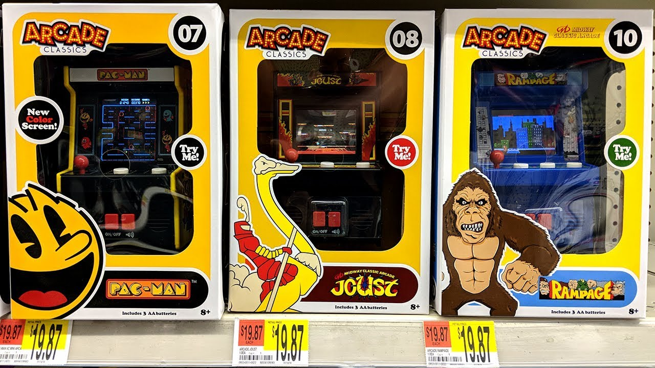 Rampage Arcade Classics Game: Spotted at Walmart