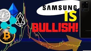 Samsung Keeps Crypto Wallet! | Bitcoin (BTC), Ripple (XRP), Ethereum (ETH), LTC and EOS TA Analysis!