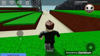 Roblox. I went to the beach this morning. And I rode the waterworks. In water park