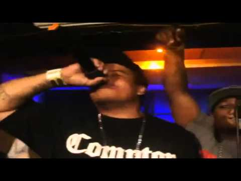 Lil Eazy- E Feat. BG Knocc Out - Real Muthaphuckkin G's *LIVE*