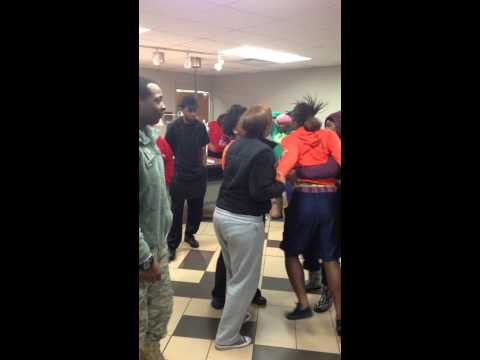 Kentucky State Fight In The Cafe