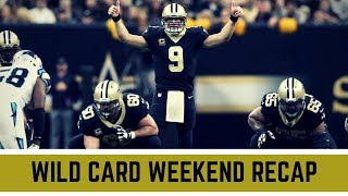 NFL Wild Card Weekend 2018 Recap and Reactions | NFL Playoffs 2018