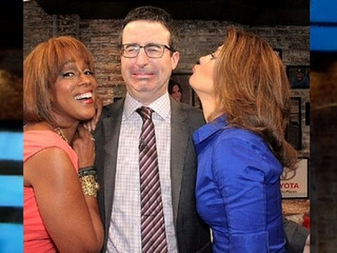 John Oliver Does His Best Southern Accent In The Toyota Green Room