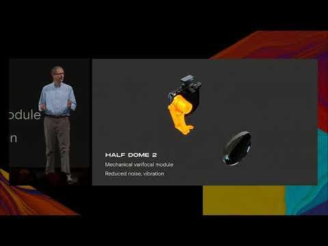 OC6: Facebook's Michael Abrash Talks New Half Dome Prototypes
