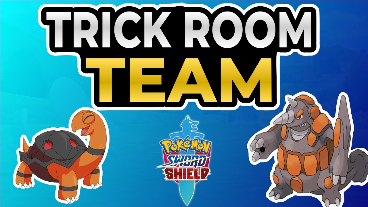 Vgc20 Updated Trick Room Team Builder Featuring Torkoal And Rhyperior Pokemon Sword And Shield