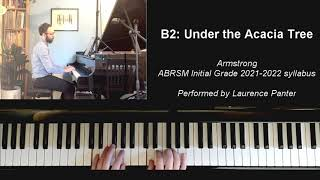 B:2 Under the Acacia Tree (ABRSM Initial Grade piano 2021-2022)