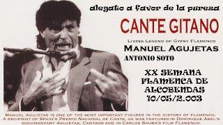 MANUEL AGUJETAS / ANTONIO SOTO - XX SEMANA FLAMENCA DE ALCOBENDAS 2003