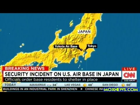 Suspect With Suspicious Package Forces LOCKDOWN At U.S. Military Base In Japan