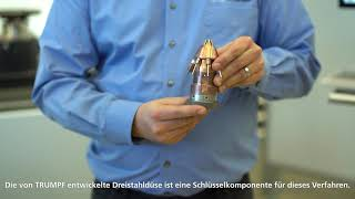 TRUMPF: Ask the Expert – High-Speed Laser Metal Deposition