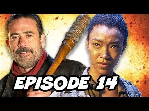 Walking Dead Season 7 Episode 14 Sasha TOP 10 WTF and Finale Predictions
