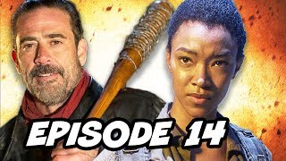 Walking Dead Season 7 Episode 14 Sasha TOP 10 WTF and Finale Predictions